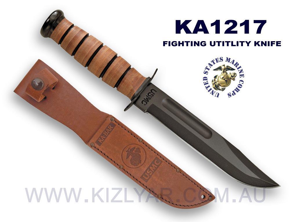 Ka Bar ケーバー U S Armyミリタリーファイティングナイフ 1219 И キャンプ・アウトドア等に