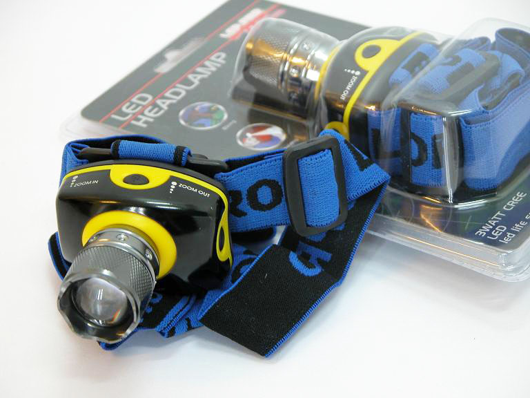 Q3D Head Torch 150M+ Range - 190 Lumen