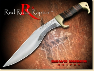 Down Under Knives - R3, Red Rock Raptor